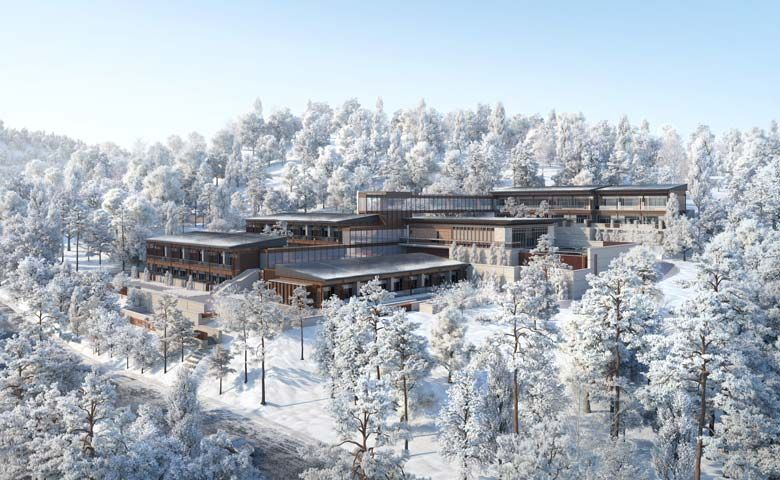 Artist's impression of Oakwood Suites Chongli