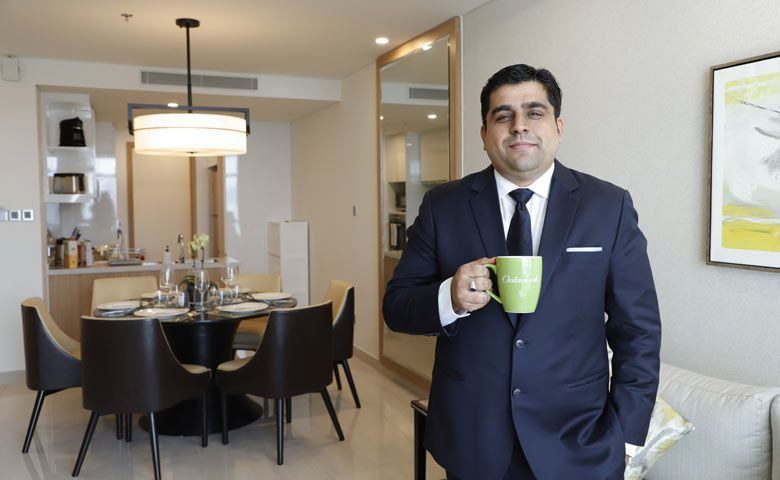 Vignesh Mani, General Manager of Oakwood Residence Saigon