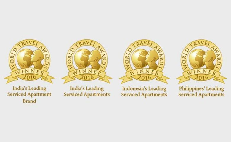 Oakwood® Asia Pacific Wins Four 2016 World Travel Awards™