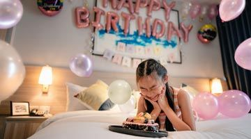 Craft an extra special birthday celebration for your beloved.