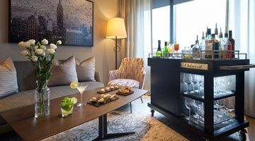Unwind with club lounge benefits in the comforts of your apartment.