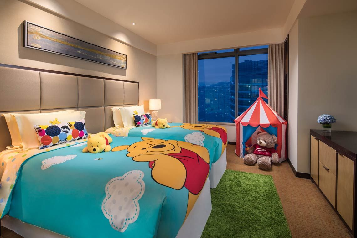 Oakwood Residence Hangzhou's two-bedroom apartment's kids room