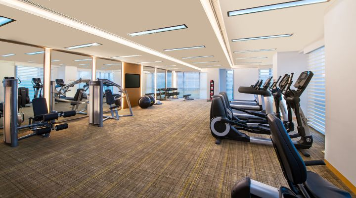 Oakwood Hotel & Residence Suzhou's fitness center