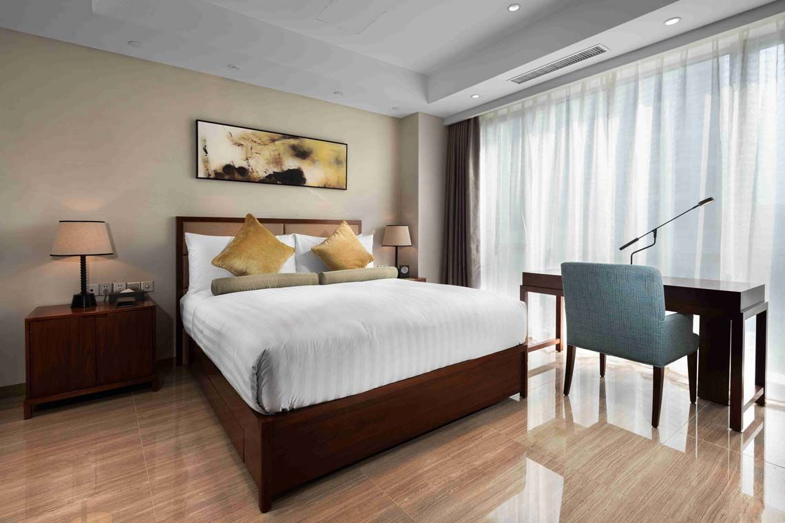 Oakwood Hotel & Residence Suzhou's superior room