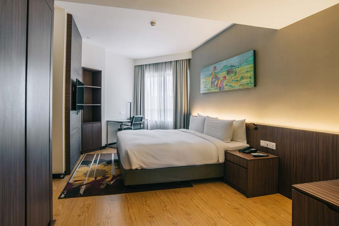 Oakwood Hotel & Residence Kuala Lumpur's two-bedroom family deluxe apartment