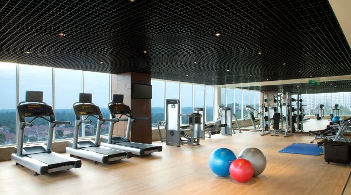 Oakwood Residence Prestige Whitefield, Bangalore's fitness center