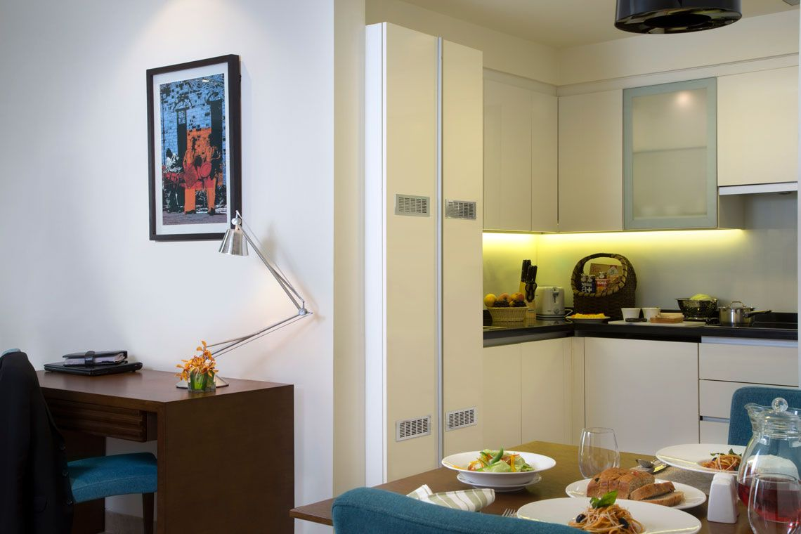 Oakwood Residence Prestige Whitefield, Bangalore's one-bedroom superior apartment
