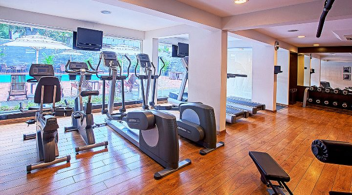 Oakwood Residence Naylor Road Pune's fitness center