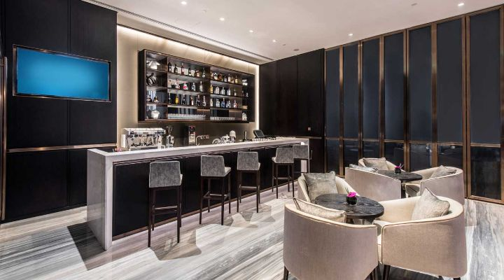 Oakwood Residence Damei Beijing's bar