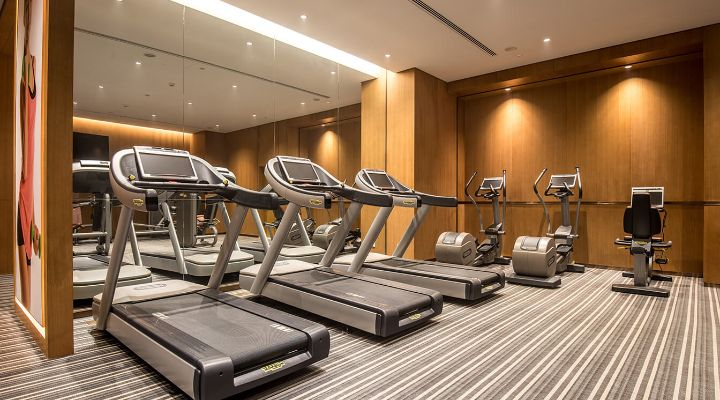 Oakwood Residence Damei Beijing's fitness center