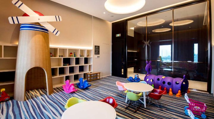 Oakwood Residence Damei Beijing's children playroom