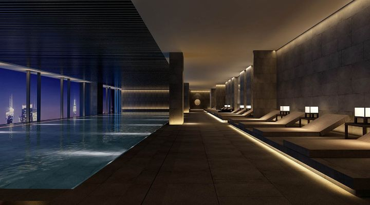 Oakwood Residence Damei Beijing's swimming pool