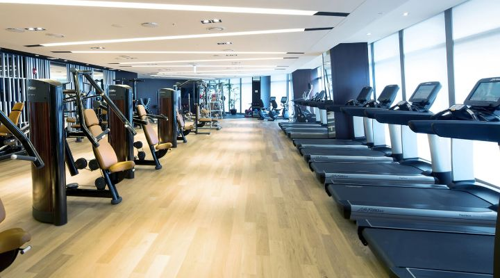 Oakwood Premier Incheon's fitness center
