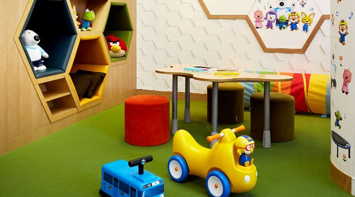 Oakwood Premier Coex Center Seoul children's playroom