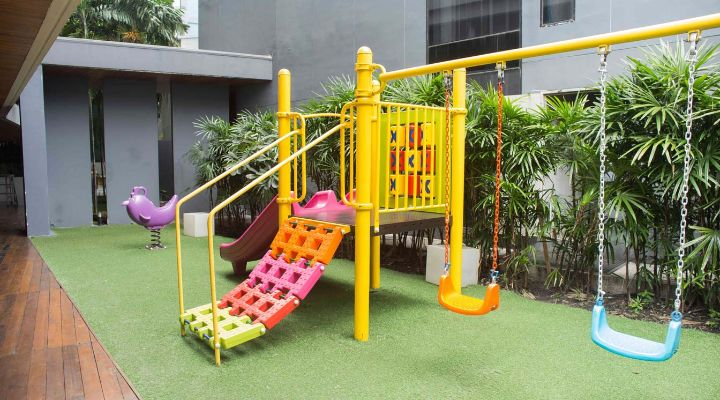 Oakwood Residence Sukhumvit Thonglor, Bangkok's children's playground