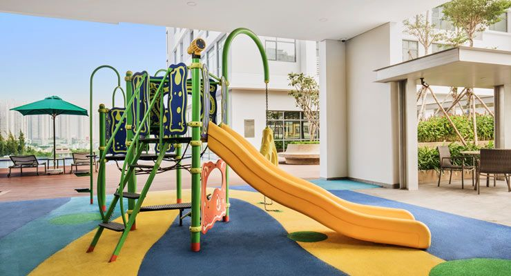 Oakwood Residence Saigon's children's playground