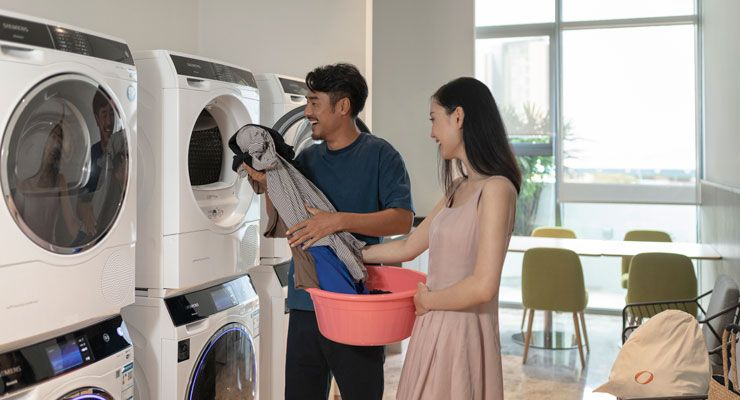 Oakwood Apartments Sanya's laundrette