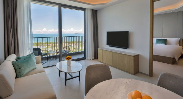 Oakwood Apartments Sanya's one bedroom executive ocean apartment