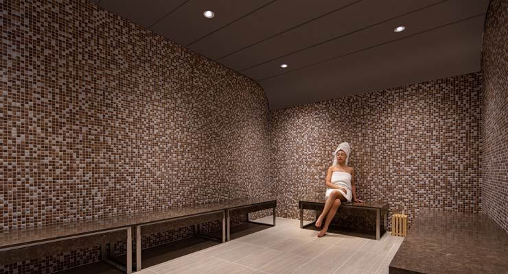 Oakwood Residence Hanoi's Steam Room