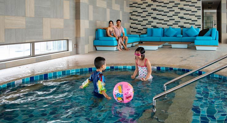 Oakwood Residence Hanoi's Kids Pool