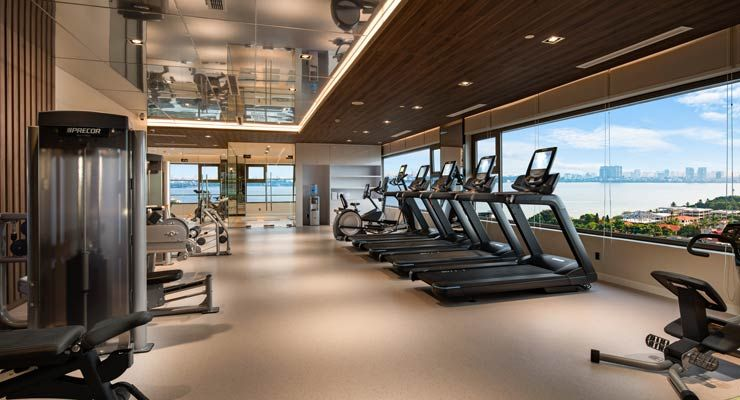 Oakwood Residence Hanoi's Fitness Centre