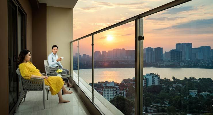 Residing at Oakwood Residence Hanoi