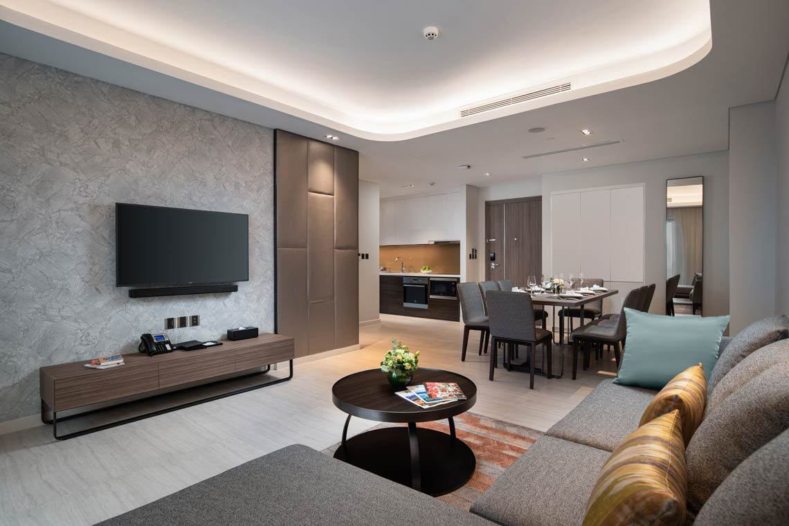 Oakwood Residence Hanoi's three-bedroom deluxe apartment