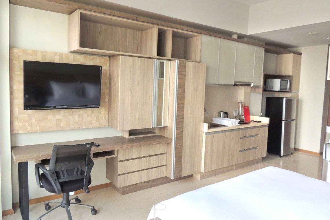 Oakwood Residence Cikarang's studio city view