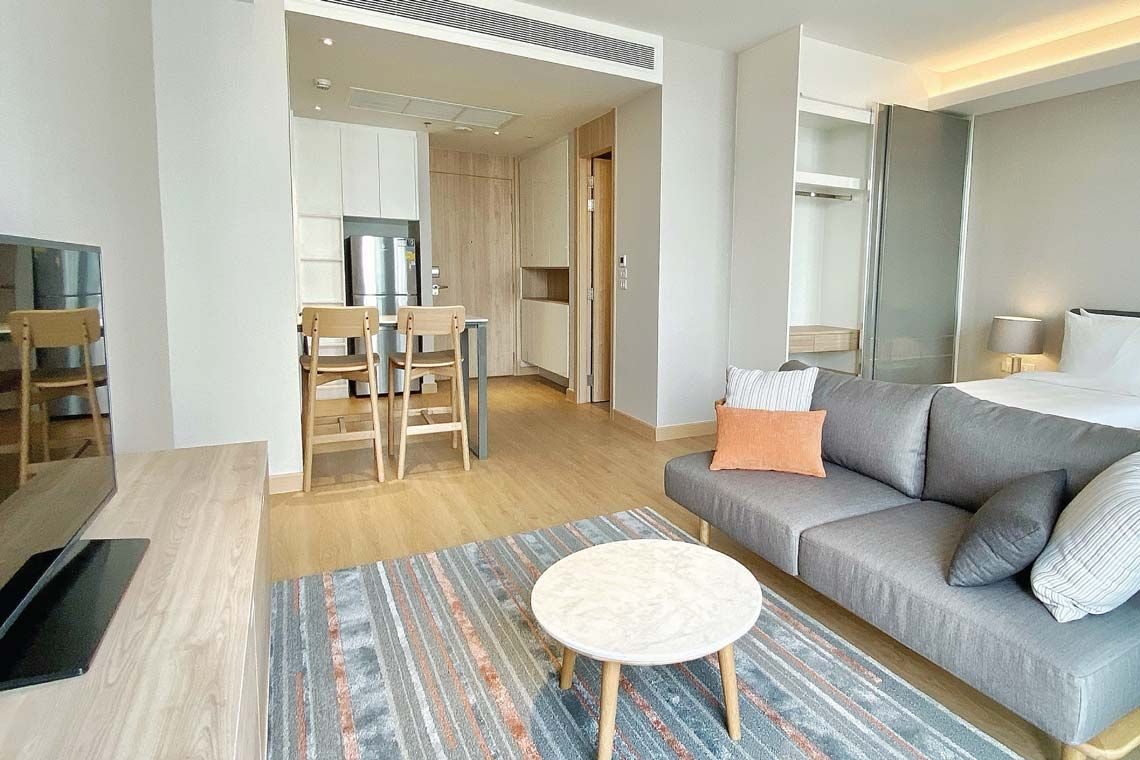 Oakwood Suites Bangkok's studio executive
