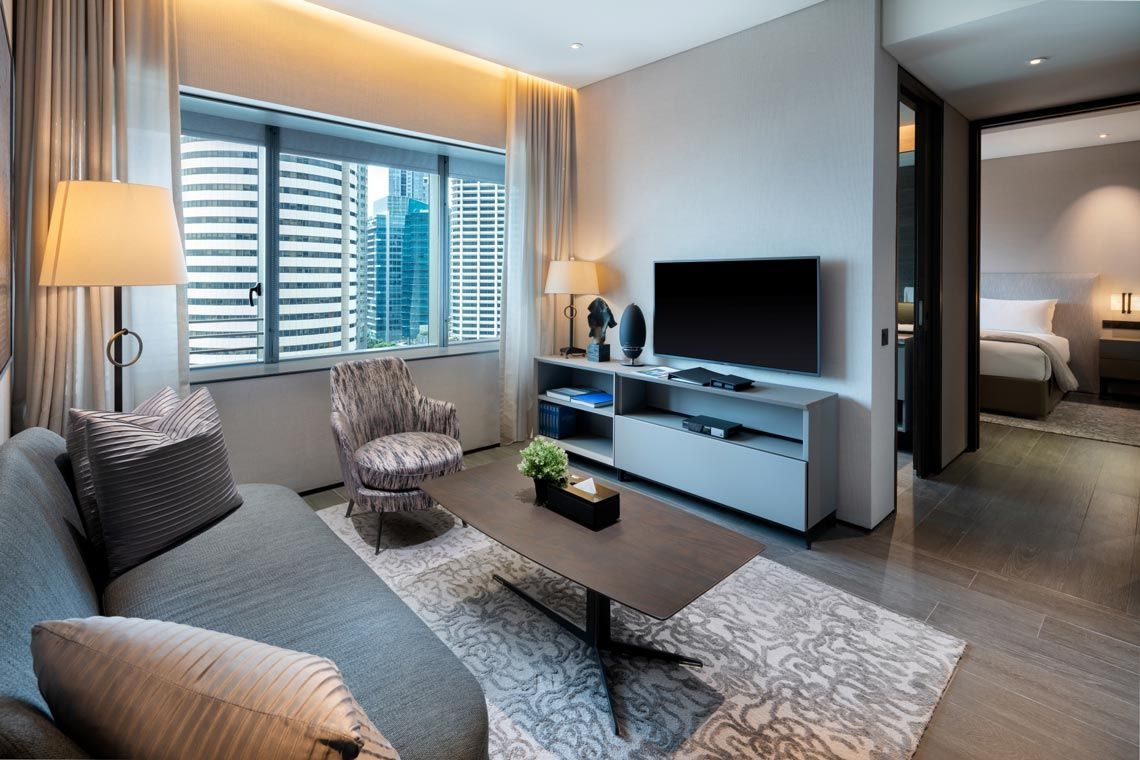 Oakwood Premier AMTD Singapore's two-bedroom premier apartment
