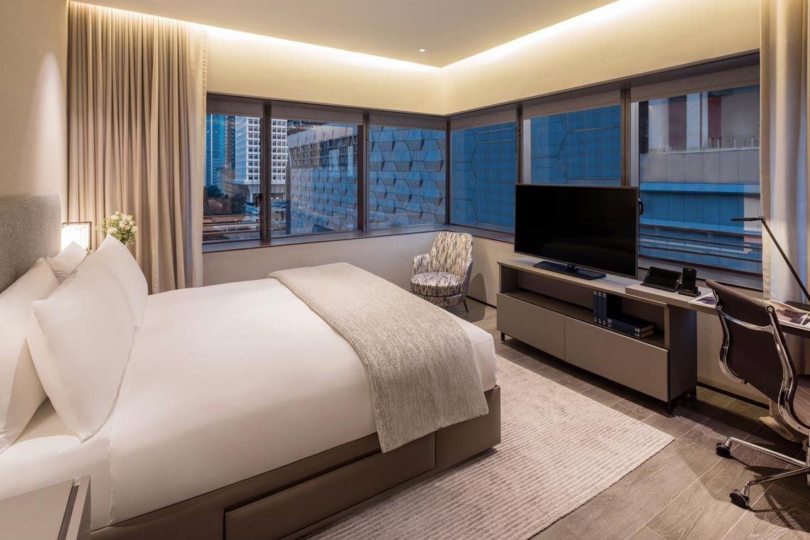 Oakwood Premier AMTD Singapore's one-bedroom executive apartment