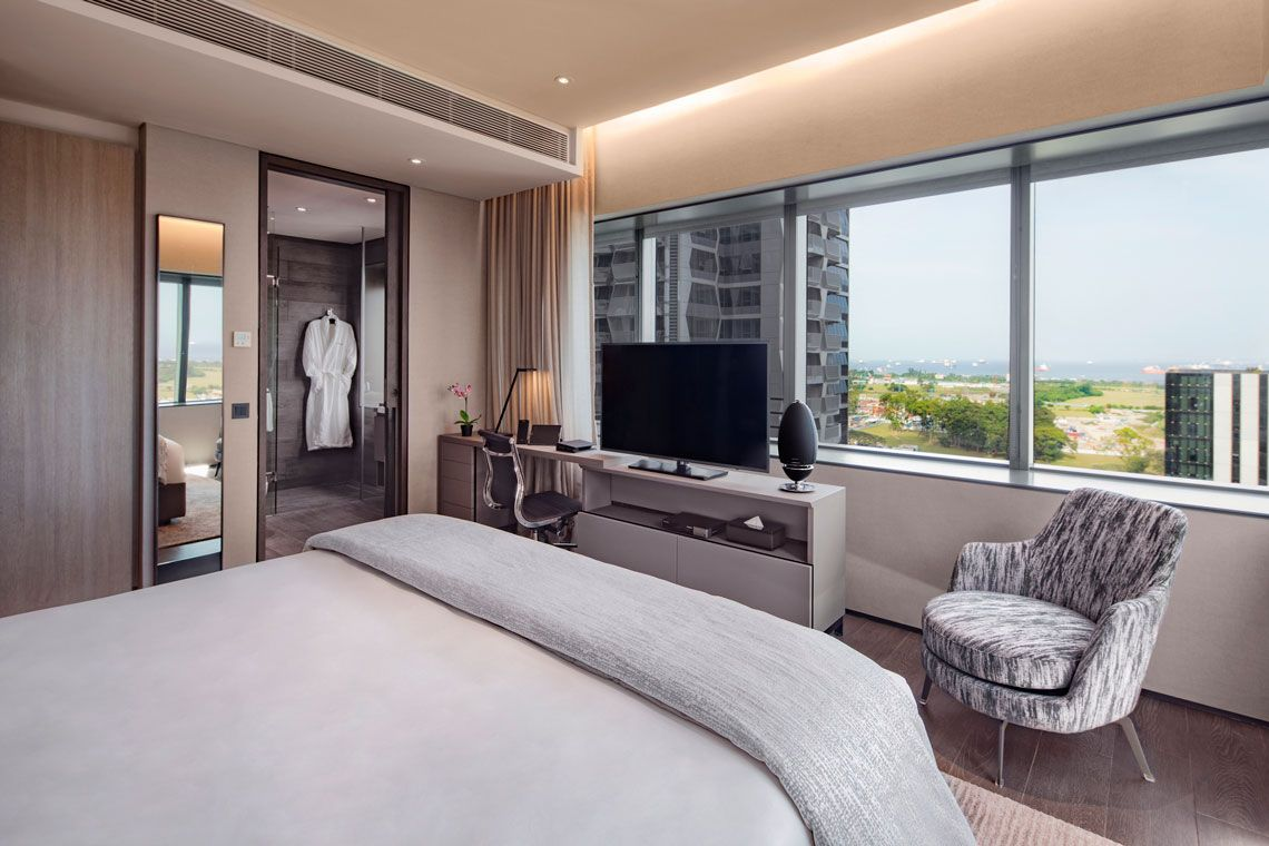 Oakwood Premier AMTD Singapore's one-bedroom premier apartment