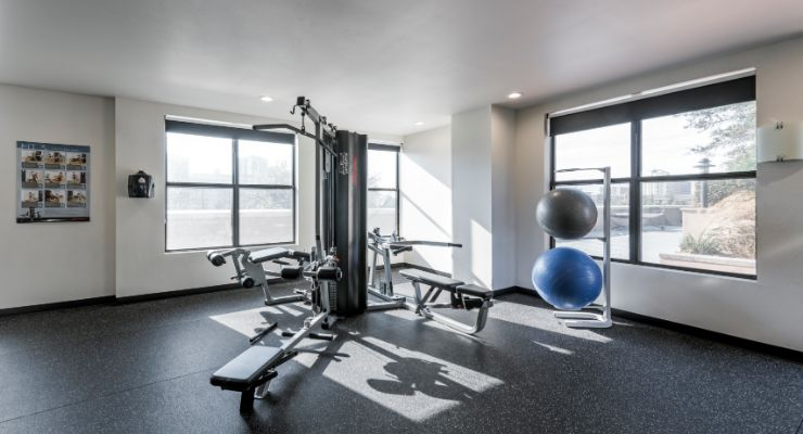 Oakwood Residence Dallas Uptown's fitness center