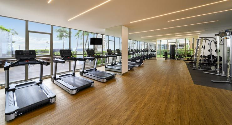 Oakwood Apartments PIK Jakarta's Fitness Center