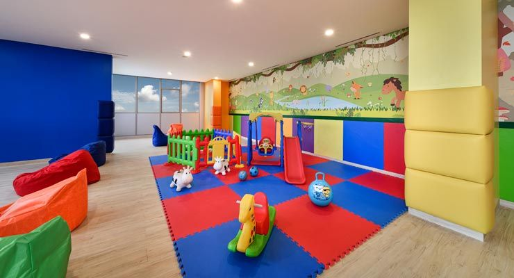 Oakwood Apartments PIK Jakarta's Kids Playground