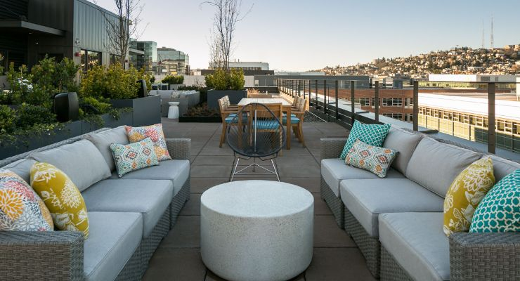 Fox and Finch's rooftop lounge