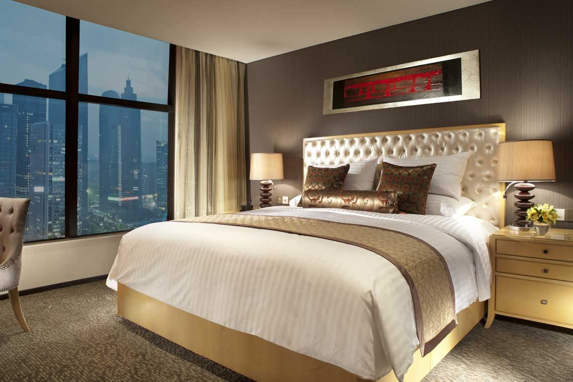 Oakwood Premier Guangzhou's one-bedroom superior apartment