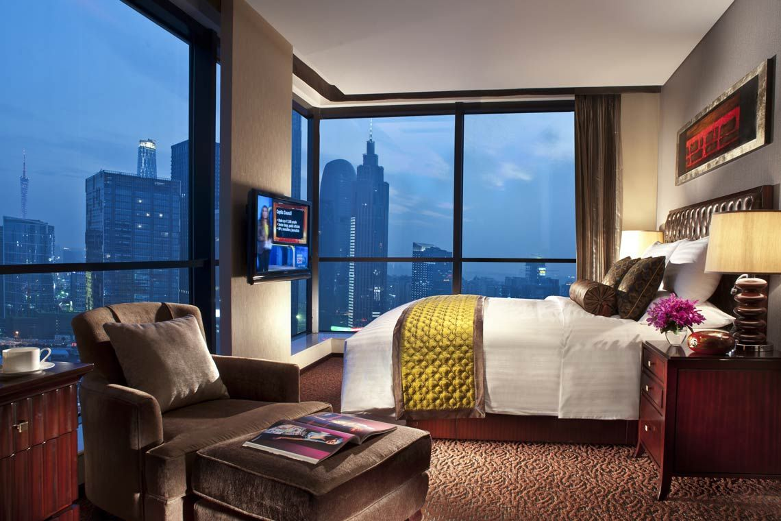 Oakwood Premier Guangzhou's three-bedroom deluxe apartment